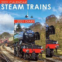 Steam Trains 2021 Calendar and Diary Set