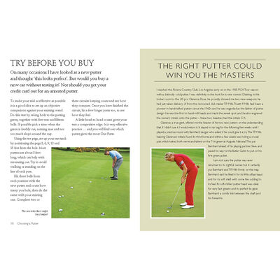 One Putt: The Ultimate Guide to Perfect Putting image number 2