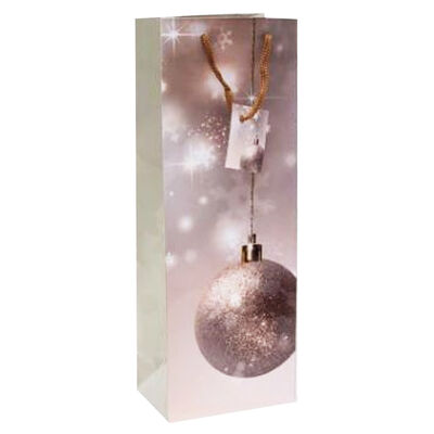 Christmas Bottle Gift Bags: Pack of 6 image number 1