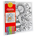 Colour Your Own Canvas with 6 Gel Pens: Bee image number 1