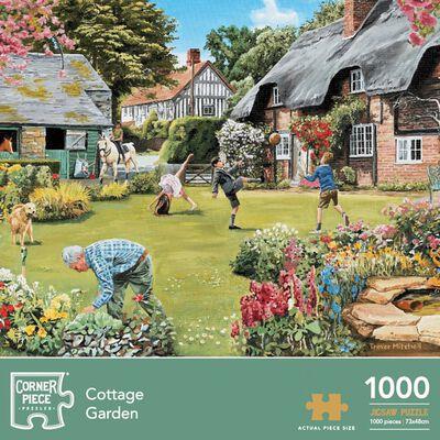 Cottage Garden 1000 Piece Jigsaw Puzzle image number 1