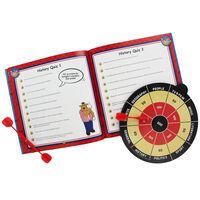 Bullseye Dartboard And Quiz Book Set