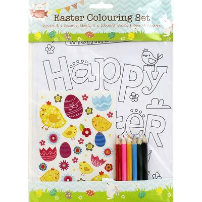 Easter Colouring Set image number 1