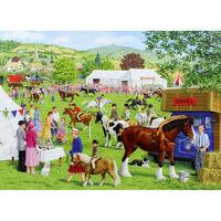 Horse Show 500 Piece Jigsaw Puzzle