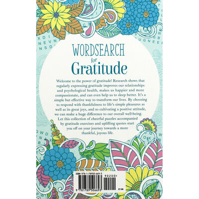 Wordsearch for Gratitude image number 3
