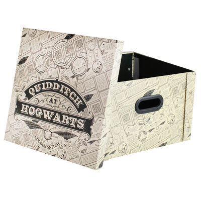 Harry Potter Quidditch Collapsible Storage Box image number 2