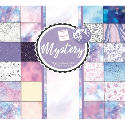 Mystery Paper Pad 12x12 Inch image number 1