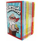 Captain Underpants 10 Book Box Set image number 1