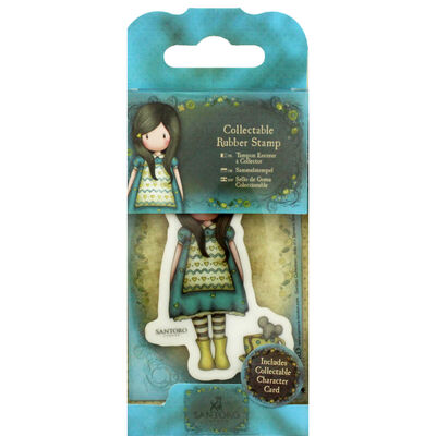 Santoro Rubber Stamp - Number 27 The Little Friend image number 1