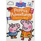 Peppa Pig: Peppa's Adventures Colouring Book image number 1