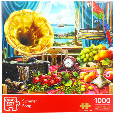 Summer Song 1000 Piece Jigsaw Puzzle image number 2