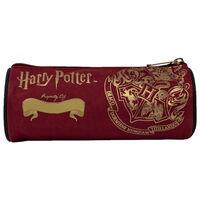 Harry Potter Hogwarts Crest Barrel Pencil Case