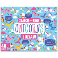 Search and Find Unicorn 48 Piece Jigsaw Puzzle