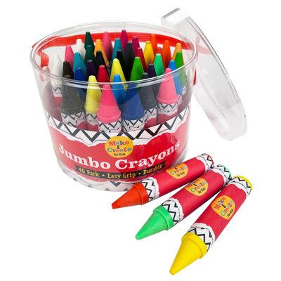 Jumbo Crayons: Set of 40 image number 2