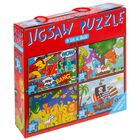 4 in 1 Jigsaw Puzzle Set image number 1
