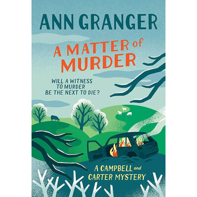 A Matter of Murder: Campbell & Carter Mystery Book 7 image number 1