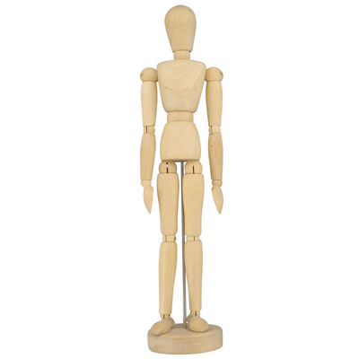 Wooden Artist Manikin - 12 Inches image number 1