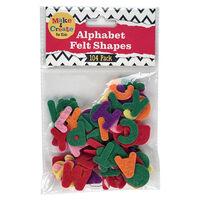 Alphabet Felt Shapes: Pack of 104
