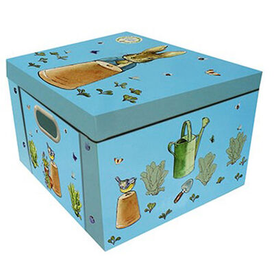 Peter Rabbit Library and Collapsible Storage Box Bundle image number 2
