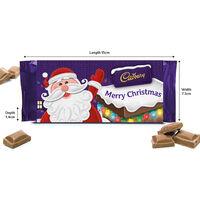 Cadbury Dairy Milk Chocolate Bar 110g - Merry Christmas