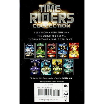 Time Riders: 9 Book Collection image number 4