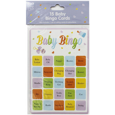 Baby Shower Baby Bingo image number 1