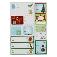 Christmas Gift Label Book