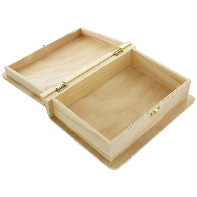 Wooden Book Box image number 2