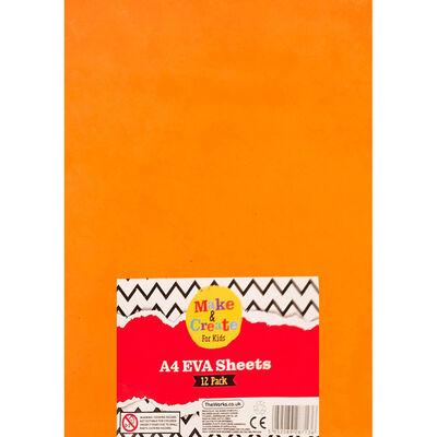 A4 EVA Sheets - 12 Pack image number 1