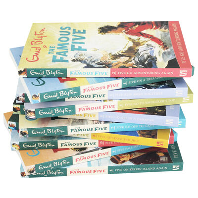 The Famous Five: 10 Book Box Set image number 2