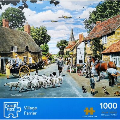 Village Farrier 1000 Piece Jigsaw Puzzle image number 1
