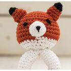 Cute Companions Miniature Handheld Crochet Kit - Fin the Fox image number 3