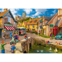 Bridge by the Grocer's 500 Piece Jigsaw Puzzle