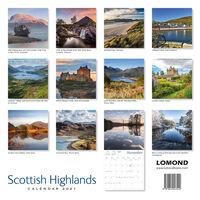 2021 Calendar: Scottish Highlands