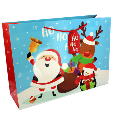 Large Christmas Gift Bag - Assorted image number 1
