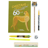 National Geographic Wildlife Explorer Stationery Set