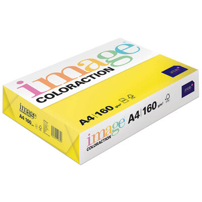 A4 Deep Yellow Canary Image Coloraction Copy Paper: 250 Sheets image number 1