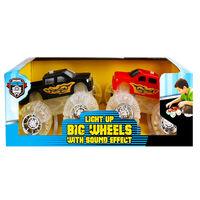 Light Up Wheels Monster Truck: Pack of 2