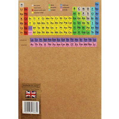 A5 Flexi Periodic Table Lined Notebook image number 3