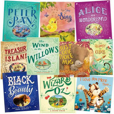 One More Story: 10 Kids Picture Books Bundle image number 1