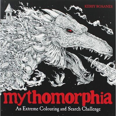 Mythomorphia - An Extreme Colouring and Search Challenge image number 1