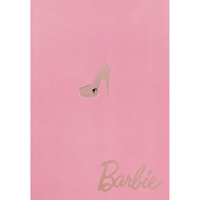 Barbie A5 Pink Notebook image number 1