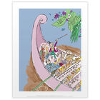Roald Dahl Charlie and the Chocolate Factory River Print image number 1