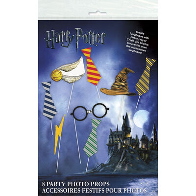 Harry Potter Party Photo Props - Pack of 8 image number 1