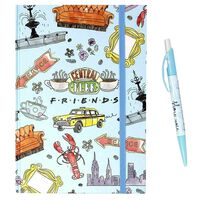 A5 Friends Notebook with Pen