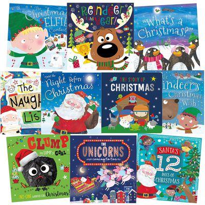 Santa's Favourites: 10 Kids Picture Books Bundle
