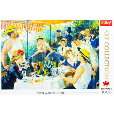 Luncheon of the Boating Party 1000 Piece Jigsaw Puzzle image number 2