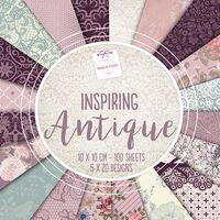 Inspiring Antique Design Pad: 10 x 10cm