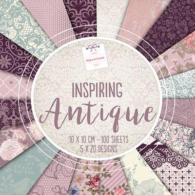 Inspiring Antique Design Pad: 10 x 10cm image number 1