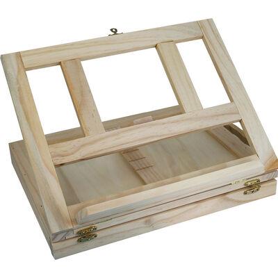 Wooden Combined Easel Desk image number 1